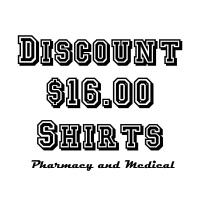 Discount $16.00 Shirts