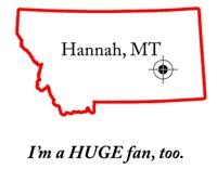 Hannah, MT
