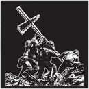 marine cross - iwo jima