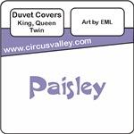 Paisley Pattern Duvet Covers