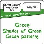 Green Duvet Covers