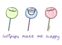 Lollipops Make Me Happy