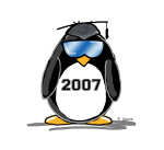 Cool Graduate 2007 Penguin