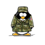 US Military Penguin