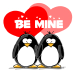 Be Mine Penguins