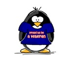 Proud Veteran Penguin
