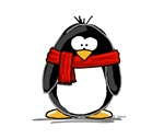 Red Scarf Penguin