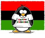 Happy Kwanzaa Penguin