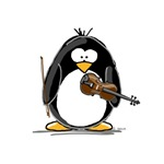 Violin Penguin