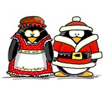Mr. and Mr.s Claus Penguin