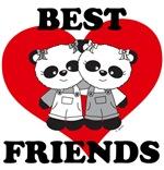 Best Friend Panda Bears