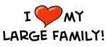 I heart my large family