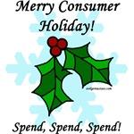 Merry consumer holiday