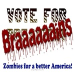 Vote brains zombie