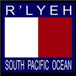 Nautical signal flag R'lyeh