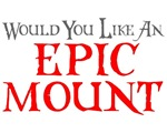 EPIC MOUNT SHIRTS FOR THE GEEK SEX VIDEO GAMER T-S