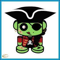 Pirate Zombie O'bot 1.0