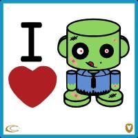 I Heart Zombio'bots