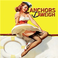 Anchors Aweigh Navy Brat Products
