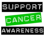 Support Cancer Awareness T-Shirts & Gifts (Green)