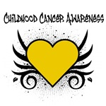 Childhood Cancer Awareness Tattoo Shirts &amp; Gifts
