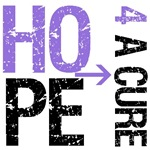 Hope 4 a Cure Leiomyosarcoma T-Shirts &amp; Gifts