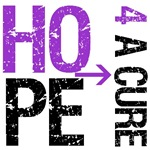 Hope 4 a Cure Pancreatic Cancer T-Shirts & Gifts