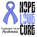Hope Love Cure Esophageal Cancer Shirts & Gifts