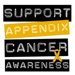 Support Appendix Cancer Awareness T-Shirts & Gifts
