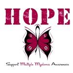  Hope Butterfly Multiple Myeloma Shirts &amp; Gifts