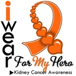 Kidney Cancer Hero Orange Ribbon Shirts & Gifts