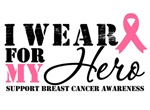 Breast Cancer Hero Support Shirts & Gifts