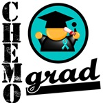 Ovarian Cancer Chemo Grad Shirts & Gifts