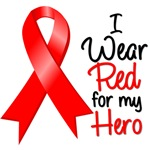 I Wear a Ribbon Blood Cancer Hero
