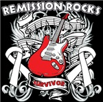 Remission Rocks Lung Cancer Shirts