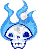Cold Fire Skull