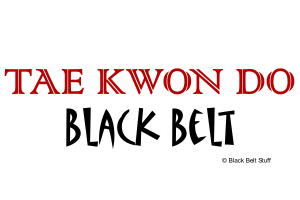 Tae Kwon Do Black Belt