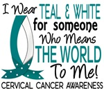 Means World To Me 1 Cervical Cancer Shirts