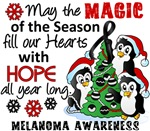 Melanoma Christmas Cards and Gifts