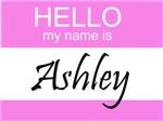 Hello My Name Is Ashley
