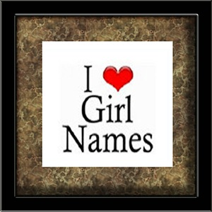 I Heart Girl Names