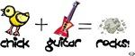 Chick Guitar Rocks!