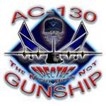 USAF AC-130 Gunship Skull