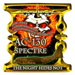 USAF AC-130 Spectre Skull Gold