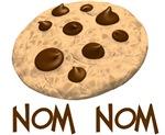 nom nom. Cookie