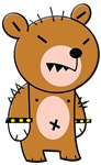 Punk Teddy Bear Punkster