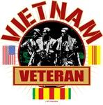Vietnam Veteran Flags