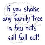Shaking Family Tree (Blue)
