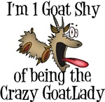 Crazy Goat Lady Shirts