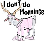 Funny Morning Goat